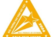 Đón nhận danh hiệu Sao Vàng Đất Việt 2006